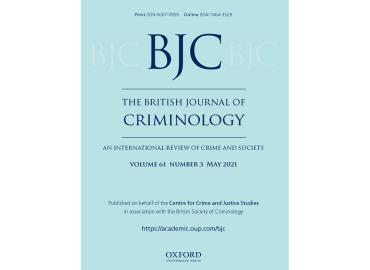 British Journal of Criminology cover